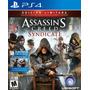 Assassins Creed Syndicate Nuevo Ps4 Dakmor Canje/venta