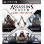 Assassins Creed Ezio Trilogy 3en1 Nuevo Ps3 Dakmor Canj/vent