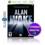 Alan Wake Xbox 360 / One - Codigo Digital