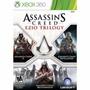 Assassins Creed Ezio Trilogy Xbox360 Original Nuevo
