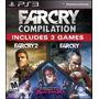 Far Cry Compilation Ps3 Original Sellado Fisico