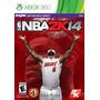 Juego Xbox 360 Nba 2k14 Basquet Ntsc En Español Kinect