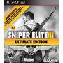 Sniper Elite Ultimate Edition - Oferta!! - Ps3- Tochi Gaming