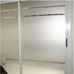 Vinilo esmerilado para vidrios film privacidad 195 - Vinilo para vidrios ...