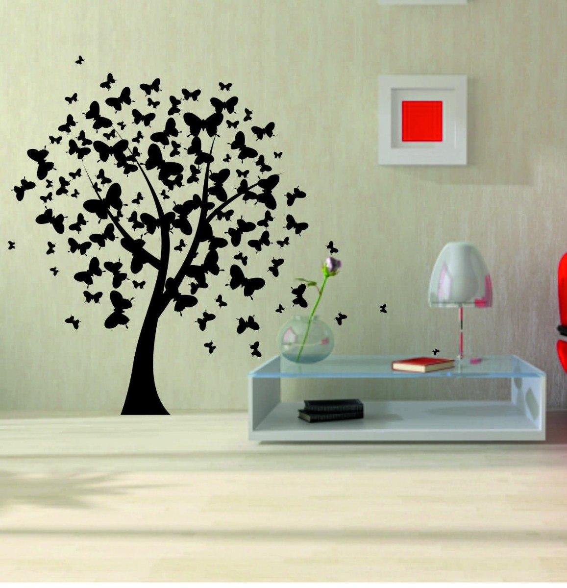 Imagenes de arboles en la pared imagui for En donde venden vinilos decorativos