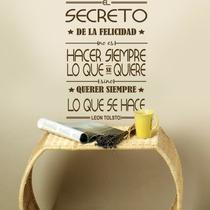 Vinilos Decorativos Frases Y Palabras !! Únicos Para Decorar
