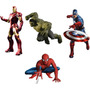 Vinilo Pared Heroes Marvel Infantiles Wall Stickers