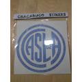 Escudo San Lorenzo 60cm X 60 Cm Vinilo Calco Autoadhesivo
