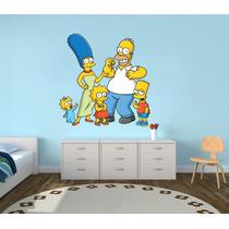 Vinilo Pared Los Simpson Imp. Decoracion Wall Stickers