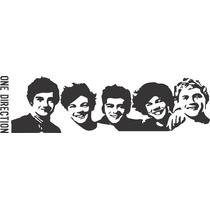 Vinilo Pared One Direction Decoración Wall Stickers