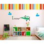 Vinilo Infantiles Avion Decoración Wall Stickers
