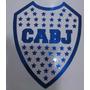Escudo Boca Jrs Vinilo Calco Auto Adhesivo Azulejos Vidrios