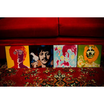 Cuadros Modernos The Beatles. Música. Rock. Decoración