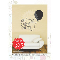 Vinilos Decorativos Frases - Autoadhesivo - Calco - Sticker
