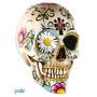 Vinilo Decorativo Adhesivo Calavera Mexican Skull