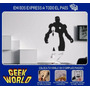 Vinilos Decorativos - Ironman / Stark - Geekworld - Oferta!