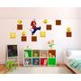 Vinilo Pared Infantiles Mario Bros Decoracion Wall Stickers