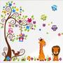 Vinilos Decorativos Infantiles Animales Y Arboles.