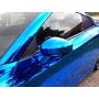 Vinilo Ploter Autoadhesivo Azul Cromado Moldeable 1.52x50cm