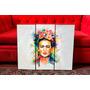 Cuadros Tripticos Frida Kahlo Ilustracion. Arte. Diseño.
