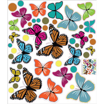 Vinilo Decorativo Adhesivo Mariposas Intensas