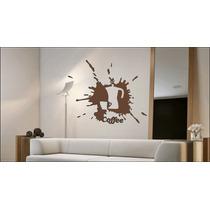 Mural Vinilo Decorativo Plotter Pared Decoracion Coffee