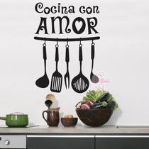 Vinilos Para Decorar La Cocina, $250 Consulta Otras Medidas