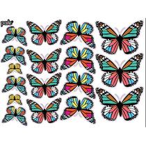 Vinilo Decorativo Adhesivo Mariposas. Med Plancha 30x40