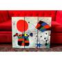 Set De Cuadros Abstractos Obras Joan Miro. Surrealismo.