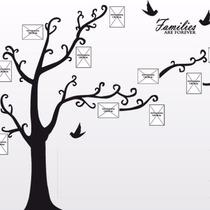 Vinilos Decorativo. Arbol Genealogico Para Toda La Familia