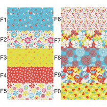 Guardas Autoadhesivas Florales, Para Pared,stickers