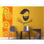Vinilo Pared Peluqueria Hombre Wall Stickers