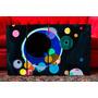 Set De Cuadros Abstractos Obras Kandinsky. Several Circles.