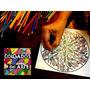 Kit 10 Mandalas Y/o Dibujos En Madera Para Pintar - Terapia