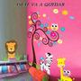 Vinilos Infantiles Decorativos Pared Vidrio Madera