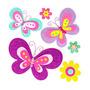 Sticker Infantil 3d Primavera Morph