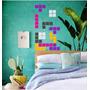 Juegos Tetris Vinilo Decorativo Vintage, Decoracion Pared