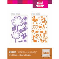 Vinilo Infantil - Vinilo Decorativo Para Paredes Y Vidrios