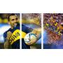 Boca Juniors Carlitos Tevez Cuadros Trípticos