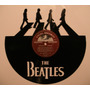 Vinilo Decorativo Con Imagen The Beatles.