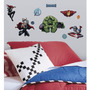 Calcomanias Infantil Pared Avengers - Importadas Usa