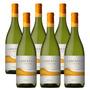 Caja X 6 Vino Blanco Lancatay Chardonnay