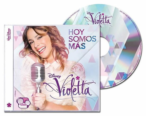 Violetta Hoy Somos Mas Cd Nuevo Cerrado
