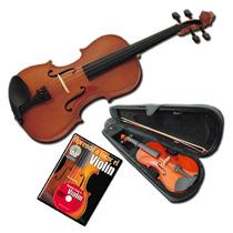Violin De Estudio Stradella 1/4 Con Estuche Arco Y Resina