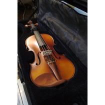 Stradella Mv1414 Violin Macizo 4/4 Arco Estuche Resina