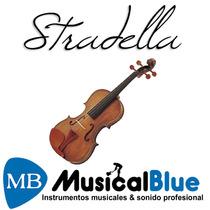 Violin Macizo Stradella 4/4 Mv141544 C/ Estuche Y Accesorios