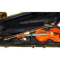 Violin Melos 3/4 Estuche Arco Resina Nuevo Con Garantia