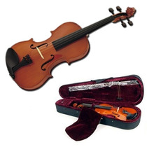 Stradella Violin 4/4 Arco Estuche Resina 4 Microafinadores