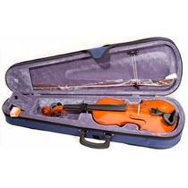 Violin Jose Asturias 4/4 Con Arco Y Estuche Audiomasmusica
