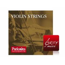 Encordado Para Violin 4/4 Marca Parksons - Grey Music